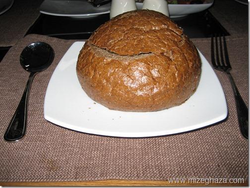 سوپ در نان
